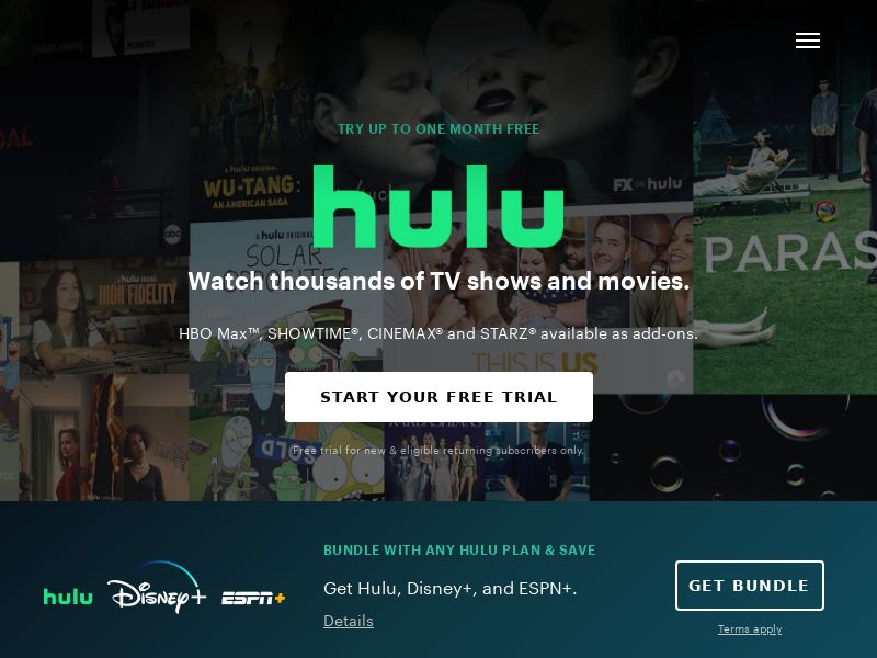 WEB/MOB Hulu /US