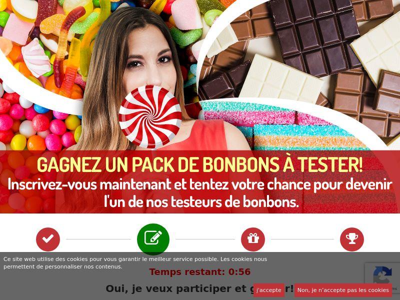12074) [WEB+WAP] Candy Tester - BE(fr) - CPL