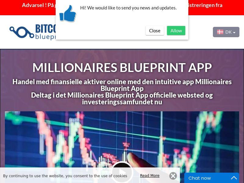 Millionaires Blueprint App Danish 3229