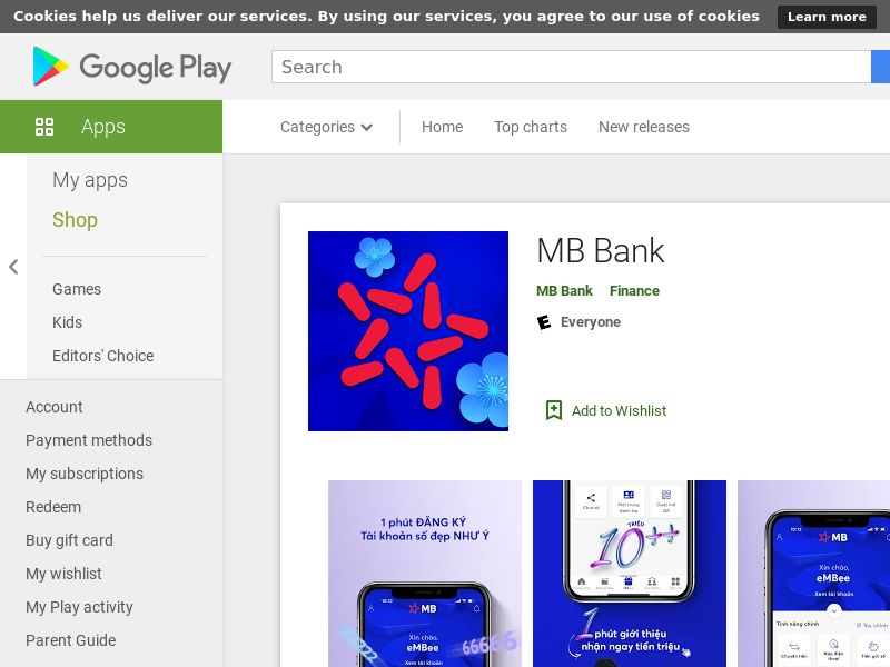 MB Bank(Select Number 6)_Android_VN_Non - Incent_CPA