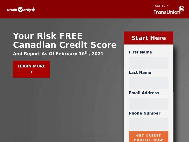 Credique Credit Verify - CA