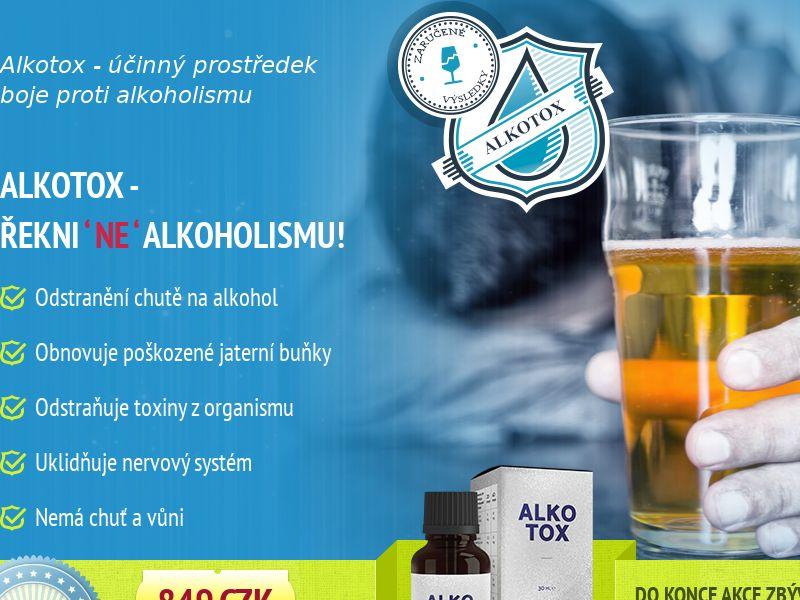 ALKOTOX CZ - alcoholism treatment product