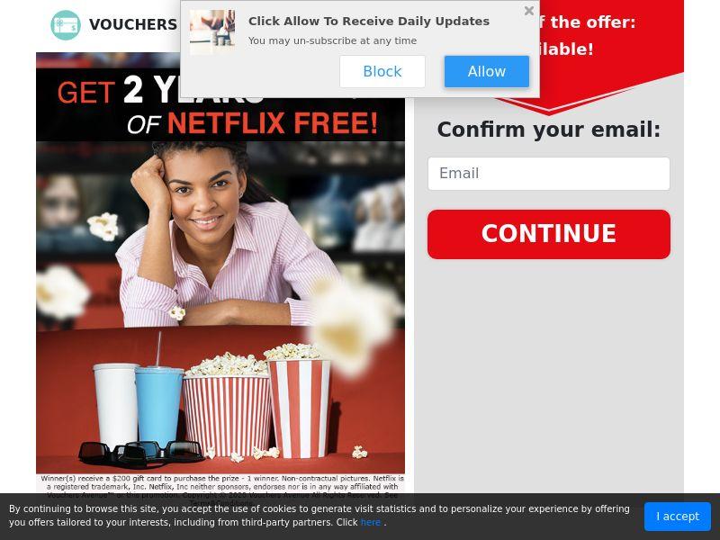 Vouchers Avenue - Netflix