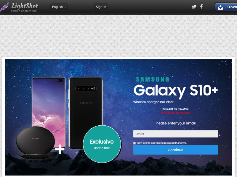 Getup Live Samsung S10 (Sweepstake) (CC Trial) - UAE [AE]