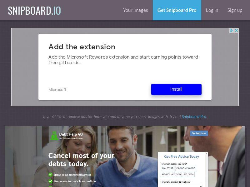 41051 - UK - Financial - Debt Help 4U - [display/email/social] [Monday - Friday]