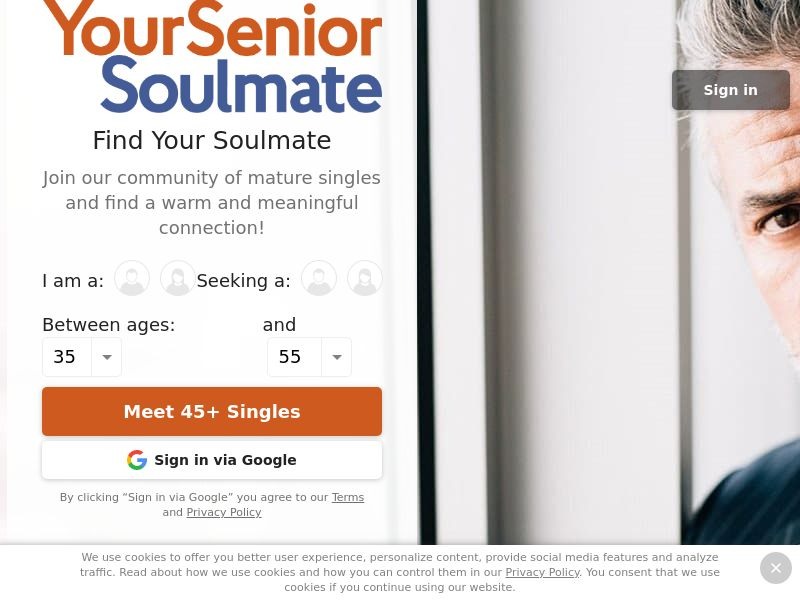 Date My Age PPL SOI SEA region Female 45+