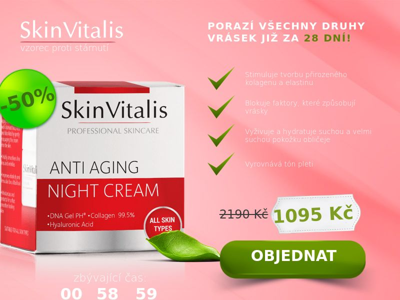 SkinVitalis - COD - [CZ]