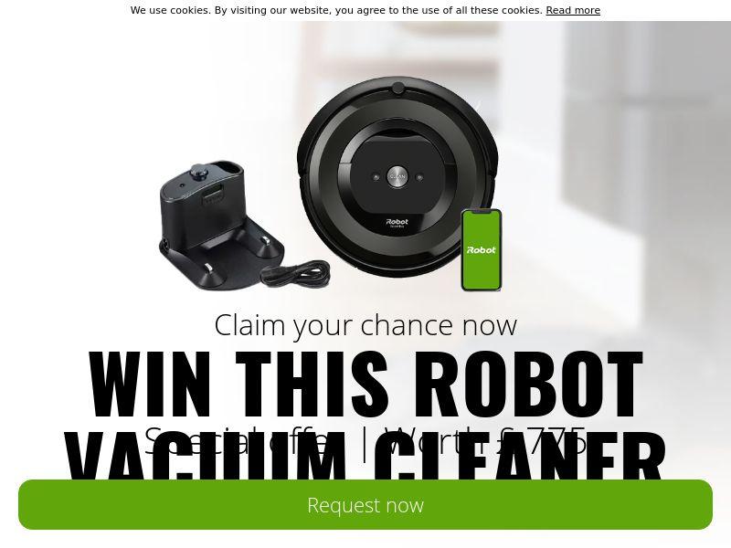 Win an iROBOT! - UK