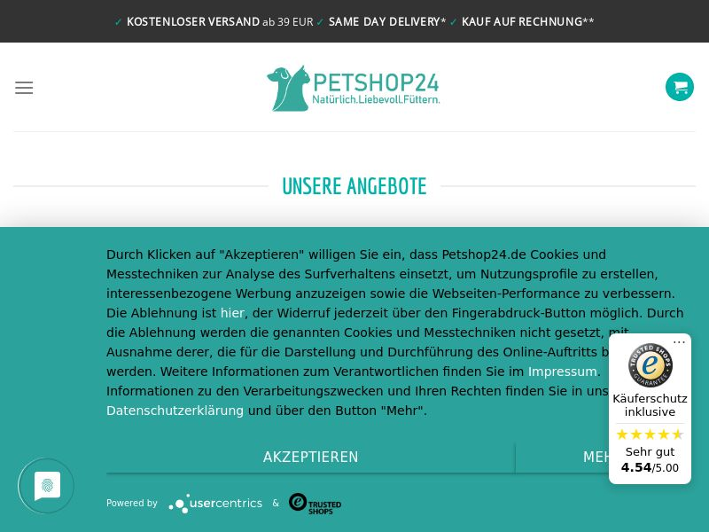 PetShop24 - DE (DE), [CPS], House and Garden, Animals, For animals, Sell, shop, gift