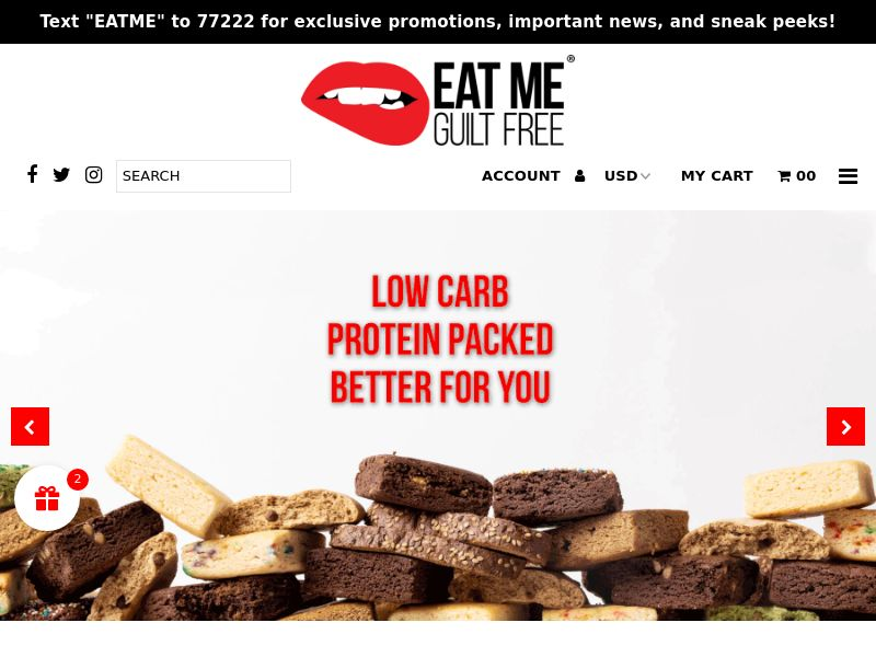 Eat me Guilt Free