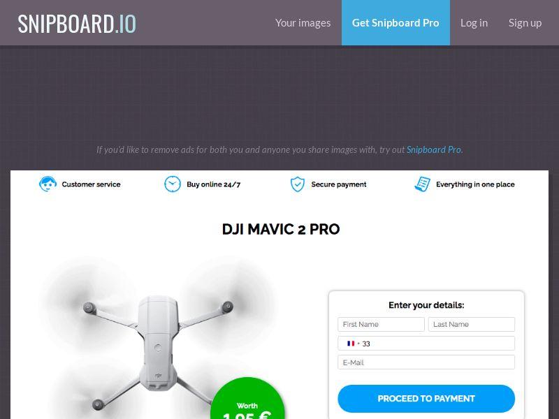 G33K Premium - DJI Mavic 2 Pro FR - CC Submit