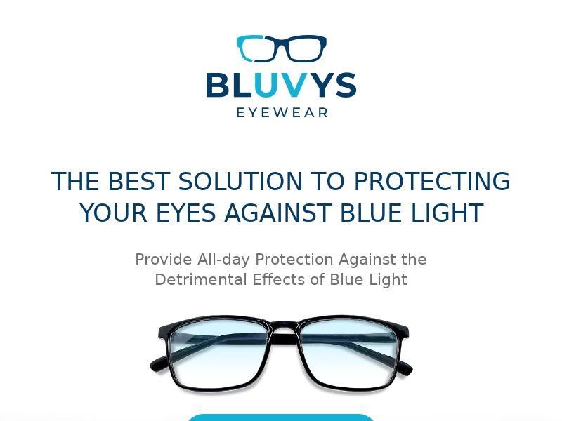 Bluvys - Blue Light Blocking Glasses - CPA - [US]
