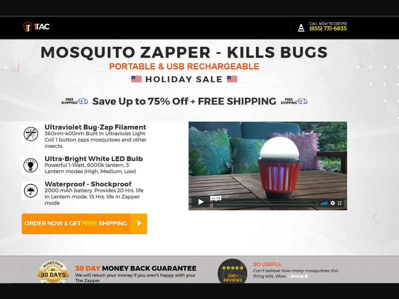 1Tac - The Zapper - Mosquito Lantern US   CC Submit