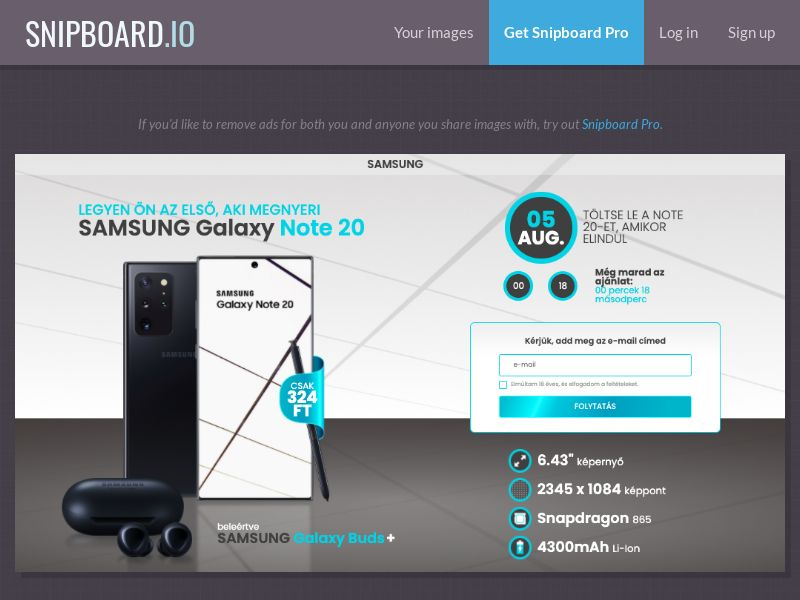 37411 - HU - CreditSupport - Samsung Galaxy Note 20 - CC submit