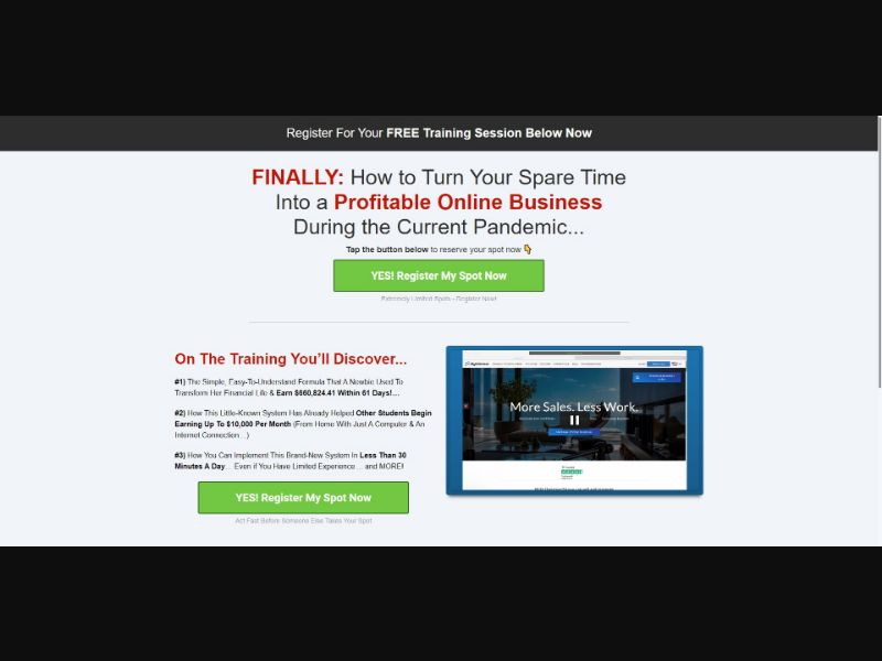 Done For You Services - $499 CTC - VSL - Biz Opp - SS - [All GEOs]