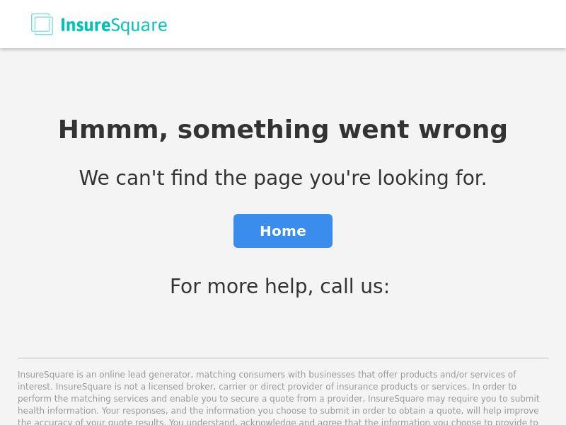 Insurance - Health - Insure Square - InsureSquare.com - Display (US)