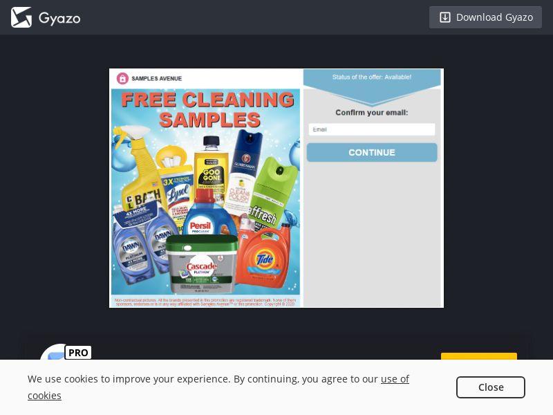 VouchersAvenue - Win Cleaning Sample Pack (US) (CPL) (Desktop)