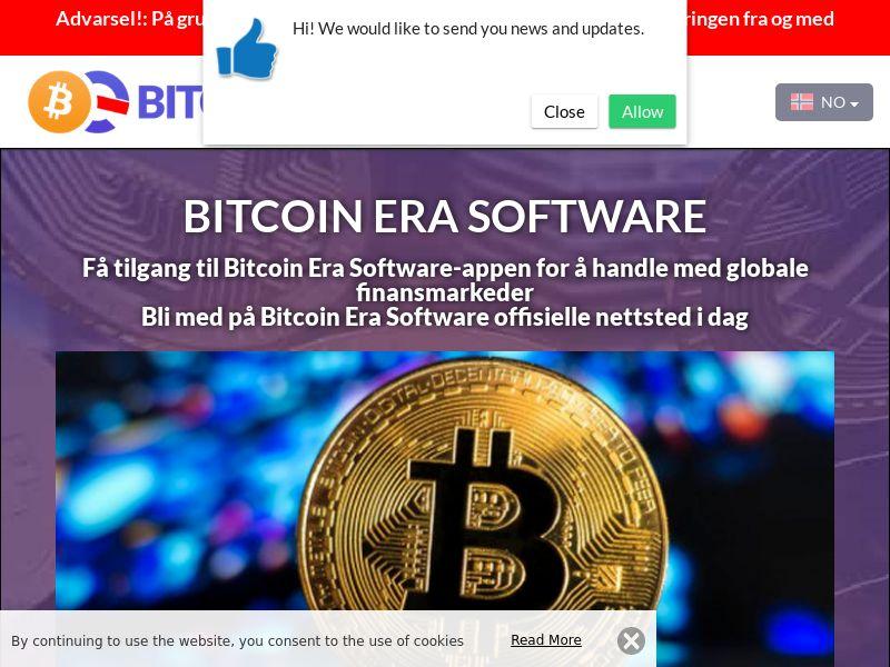 The Bitcoin Era Norwegian 2380