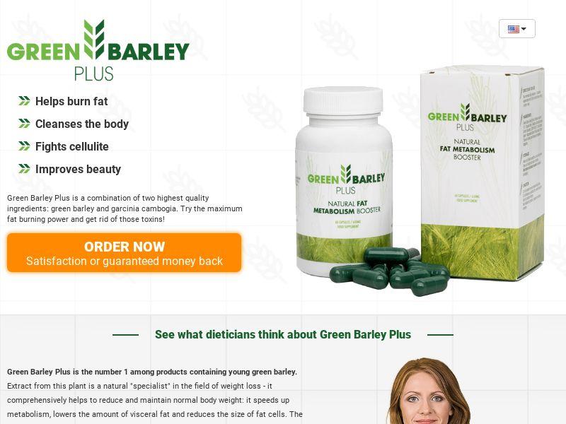 Green Barley Plus - SS - [CA]