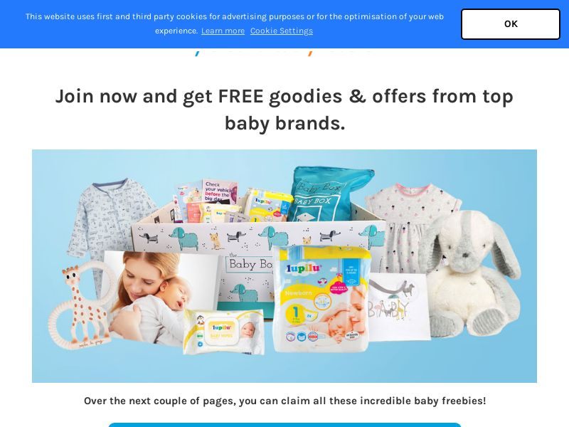 Your Baby Club - Email Submit | UK