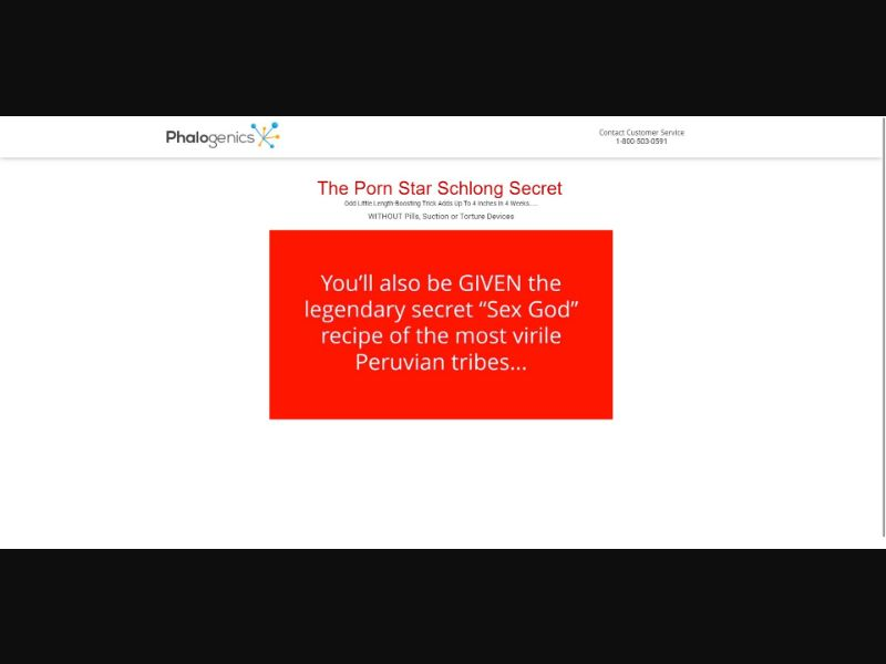 Phalogenics - VSL - Male Enhancement - SS - [All GEOs]