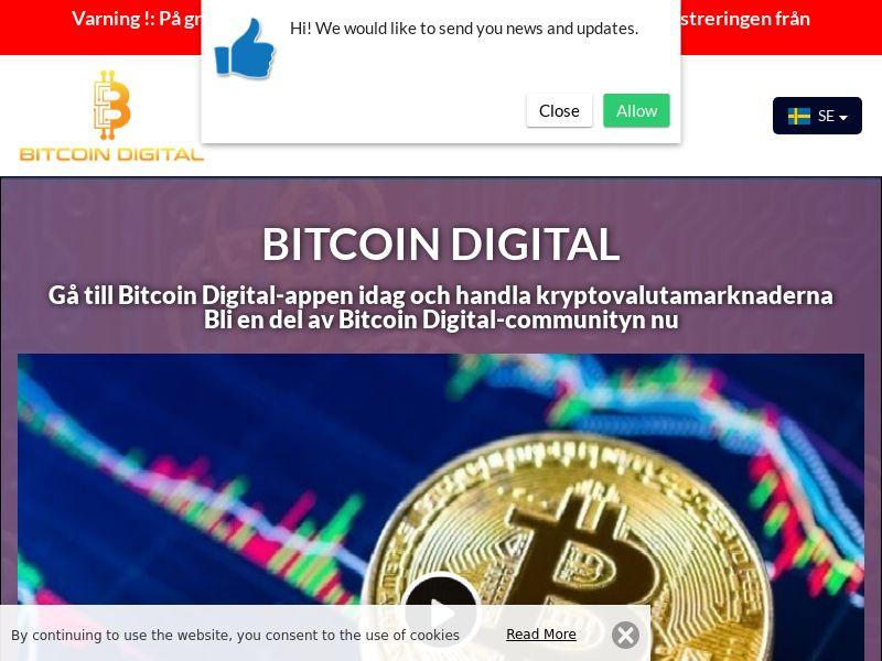 Bitcoin Digital Swedish 4082
