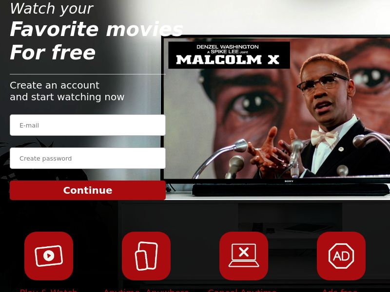 Malcom X - Streaming - Movie VOD - AU - CC Submit