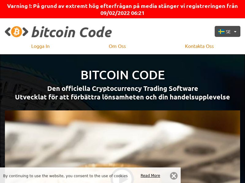 Bitcoins Code Pro Swedish 1026