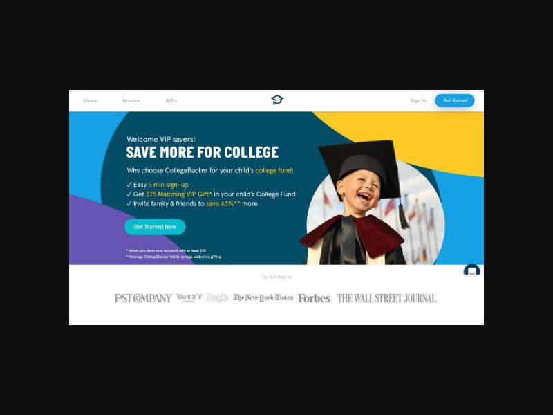 College Backer - College Savings Fund