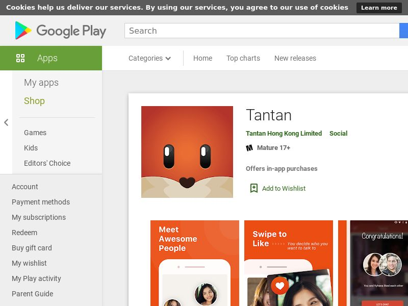 Tantan - Android - KR <<*PENDING*PRIVATE OFFER*>>