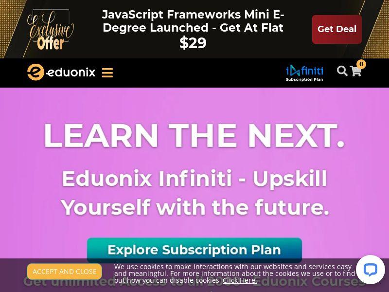 Eduonix.com CPS - Worldwide