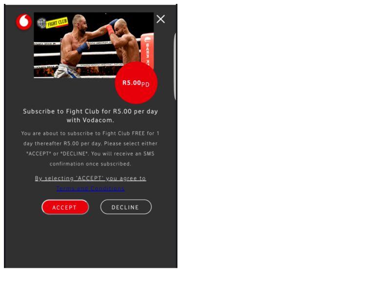 FightTV Vodacom