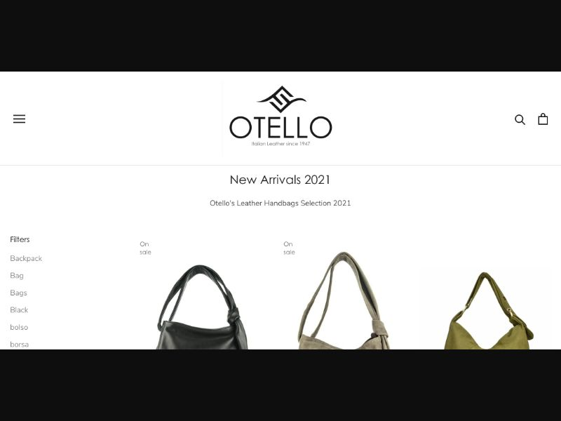 Otello Handbags 2021 - CC Submit - UK-IT-ES - E-Commerce - Responsive