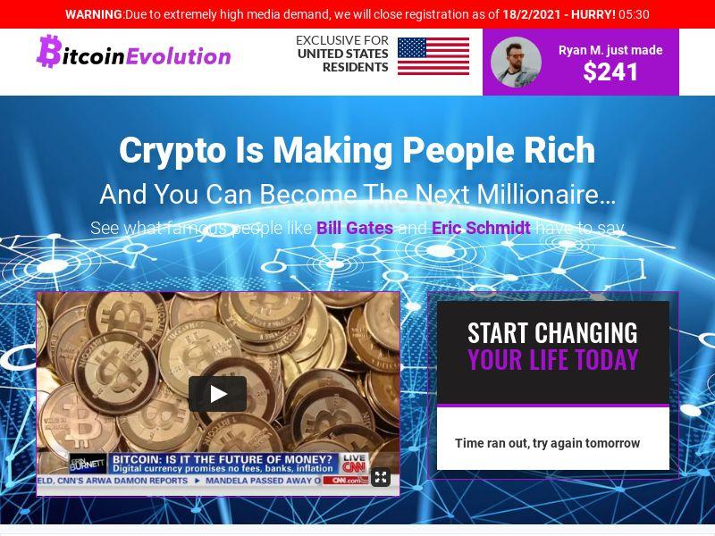 Bitcoin Evolution CPA DE, AT