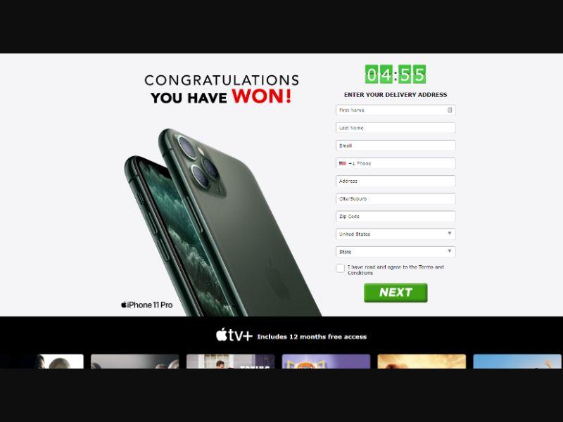 AbsoluteWinner iPhone 11 Pro + Apple TV US | CC Sub