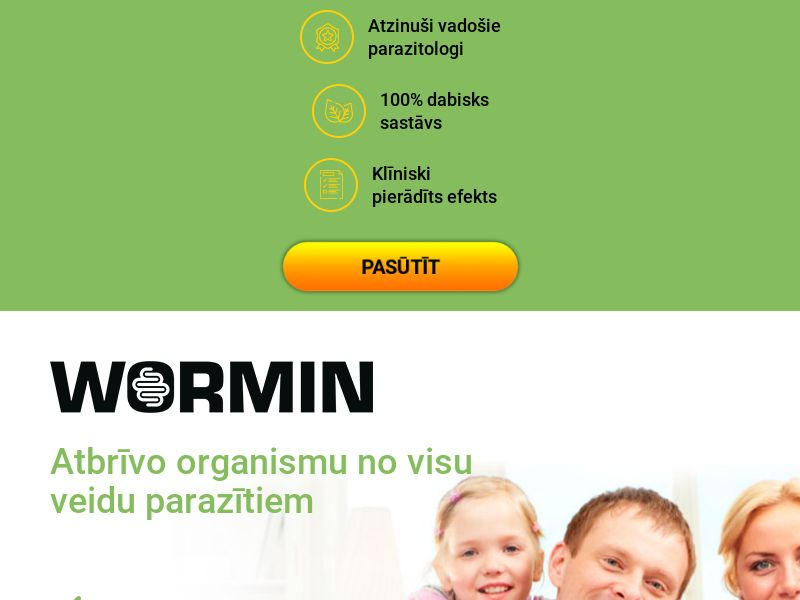 Wormin LV - anti-parasite product