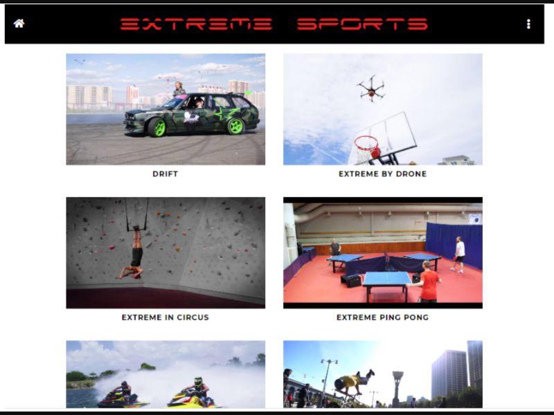 Extreme Sports - 1 Click - ZA-Voda - Online Games - Mobile