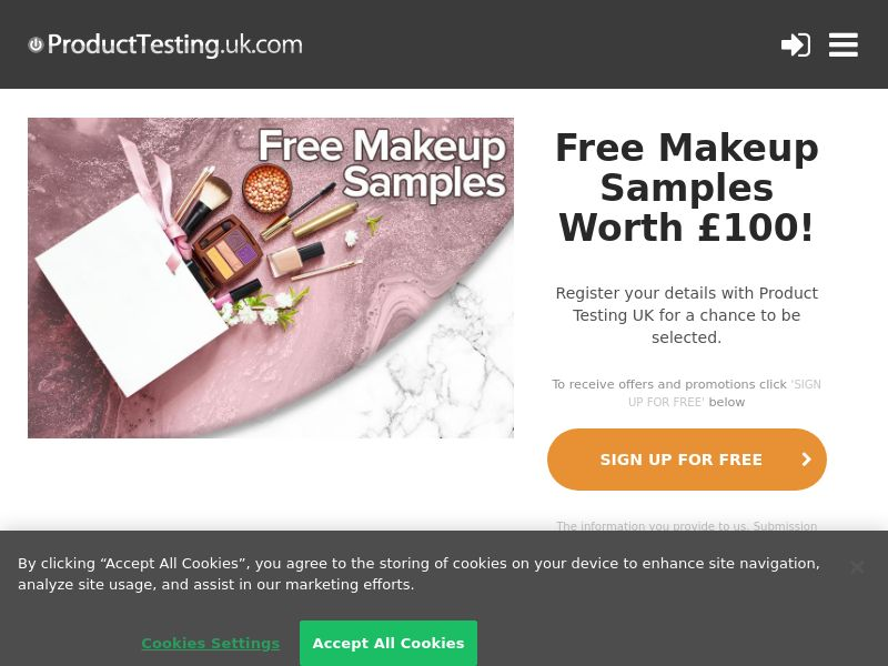 Product Testing - Test And Win The Latest Beauty Products [UK]