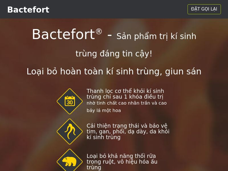 Bactefort VN - anti-parasite product