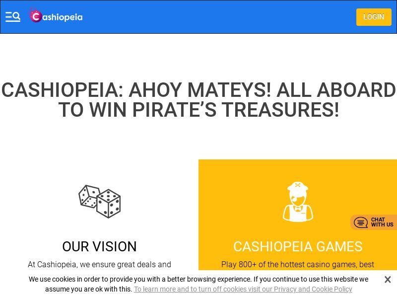 Cashiopeia.com Casino CPA - Netherlands