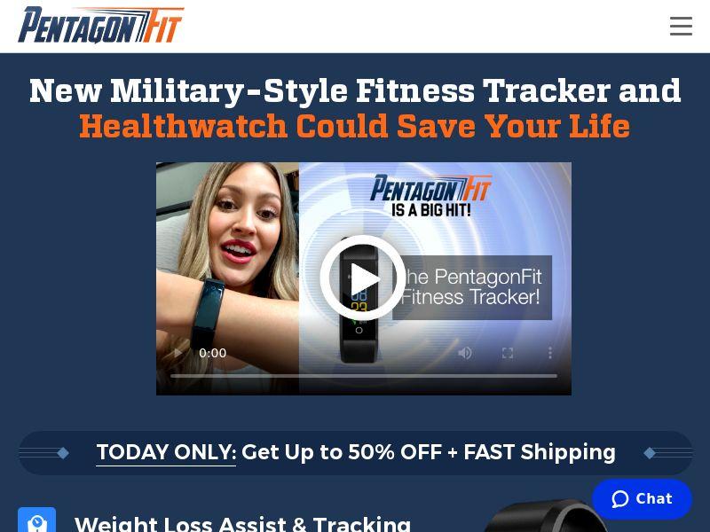 PentagonFit Tracker SS - High CTC