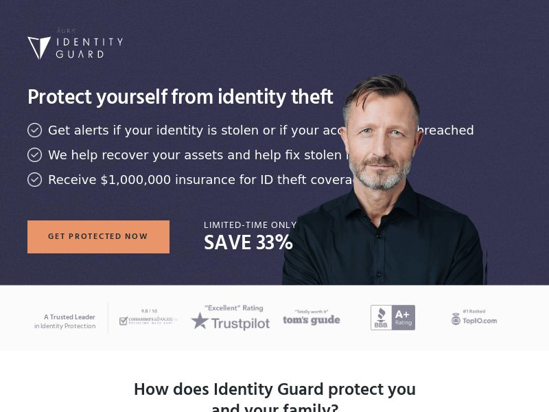 Identity Guard - ID Theft Protection - CPA - [US]