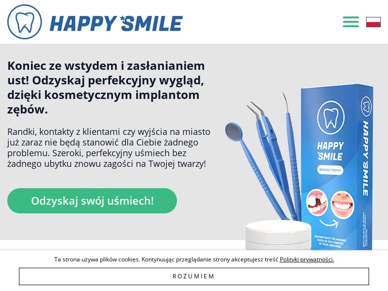 Happy Smile - PL (PL), [CPS], Health and Beauty, Medicine, Sell, coronavirus, corona, virus, keto, diet, weight, fitness, face mask