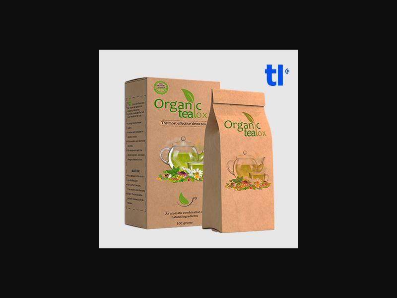 Organic Teatox Tea - weightloss - CPA - COD - Nutra