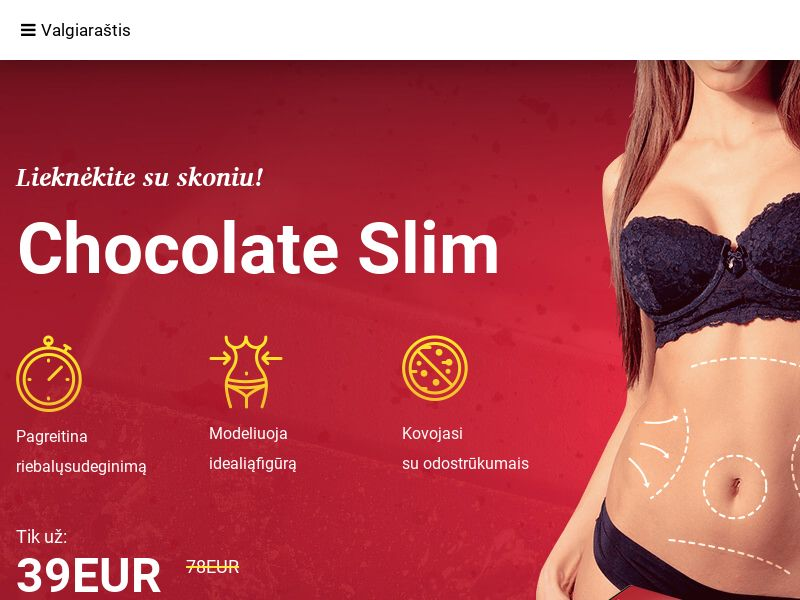 Chocolate Slim LT - weight loss treatment
