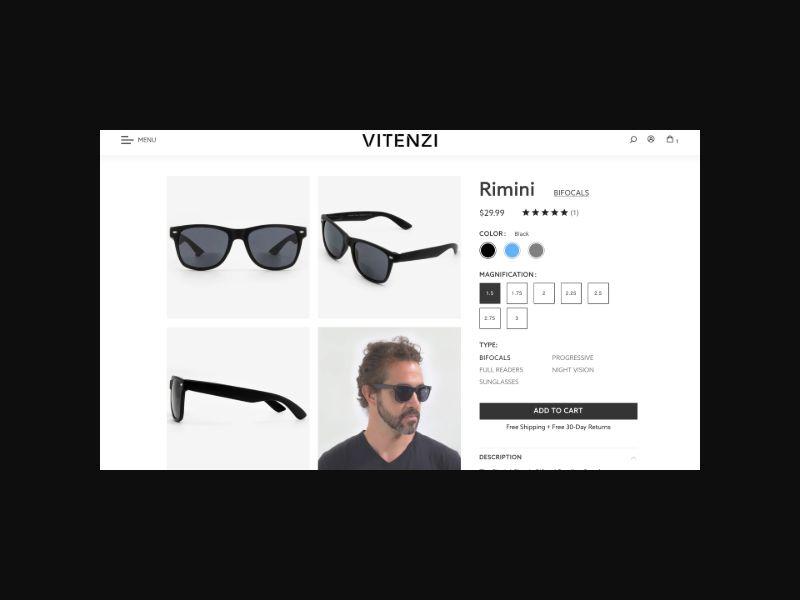 Bifocal Sunglasses (US) CPS