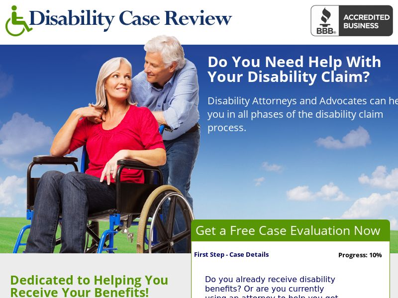 Legal - Disability Case Review (US)