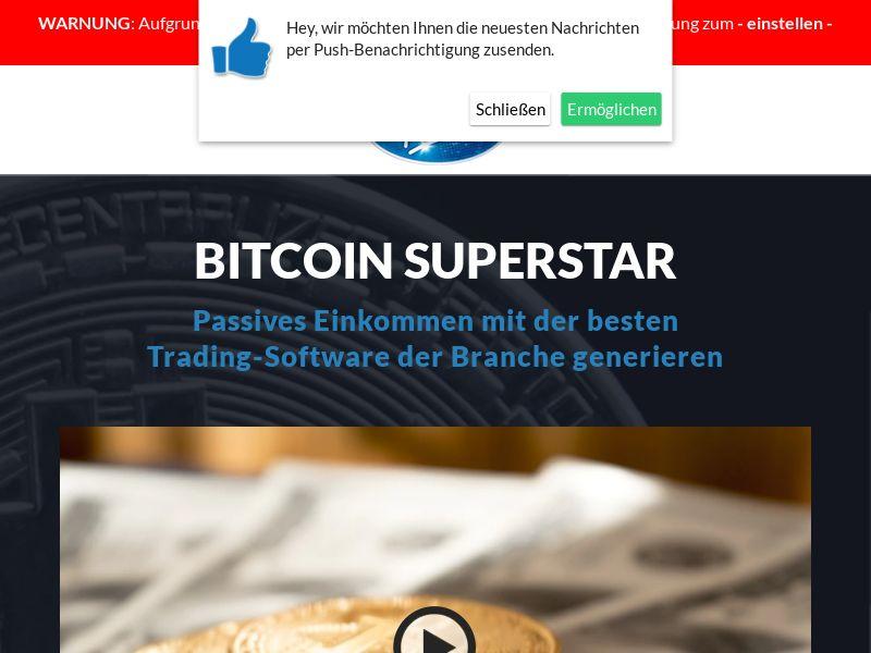 Bitcoin Super Star German 1121
