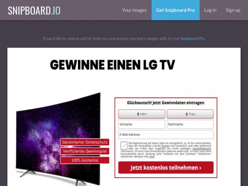 Winmarketing - LG TV - DE