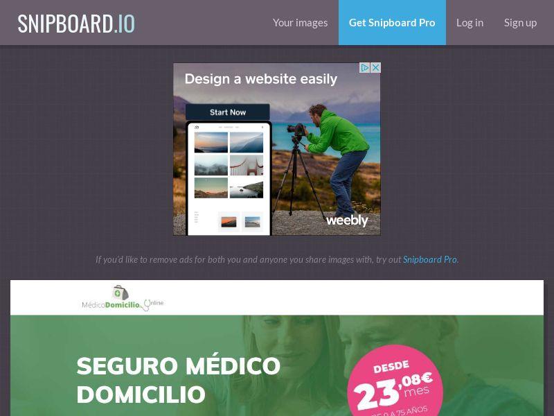 39247 - ES - Insurance - Seguro Medico Domicilio (Monthly 50 cap) - SOI